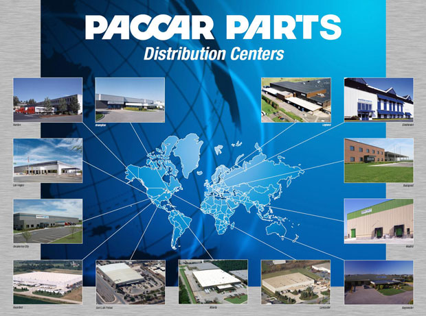Paccar locaties